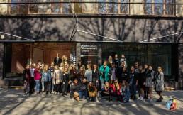 Renginio moksleiviams akimirka Kaunas 2022 ofise