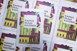Kaunas pilnas kultūros skrajutės