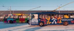 Kauno troleibusai skirti Europos kultūros sostinėms Materai ir Plovdivui